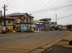 Lock down in Cameroon English-speaking city