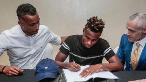 Jay Z's Roc Nation Sports signs Nigerian striker Samuel Chukwueze