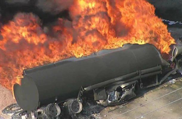 Fuel tanker blast kills at least 57 people