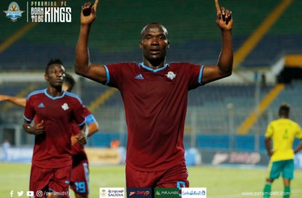 John Antwi scores brace for new club Pyramids Fc in Confederations Cup