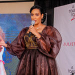 Nigerian celebrities support Juliet Ibrahim at launch of debut book