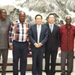 Mahama holds meeting with Chinese Ambassador