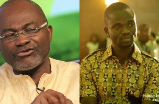 Ken Agyapong BLOWS hot air; threatens to expose Manasseh over GHC1k bribe