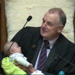 New Zealand's speaker feeds MP's baby while presiding over plenary
