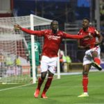 Albert Adoma on target as Forest trash Derby
