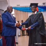 VIDEO: Dr Bawumia jabs Gen. Mosquito during his masters graduation;its never too late to acquire knowledge