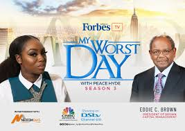 """VIDEO: Eddie Brown tells Peace Hyde how he built his $9.5 billion business on """"My Worst Day"""""""