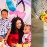 PHOTOS: Juliet Ibrahim's ex hubby, Kwadwo Safo Jnr welcomes 3rd child with woman he 'cheated with'