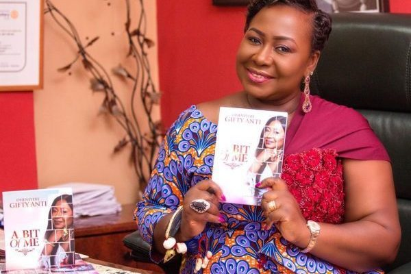 Gifty Anti's 'A Bit of Me' number 1 on Amazon