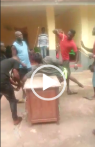 Video of palace guards brutally flogging teenager in Enchi goes viral