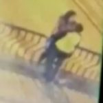 Watch the horrifying moment kissing couple plunge 50ft to their deaths from a bridge