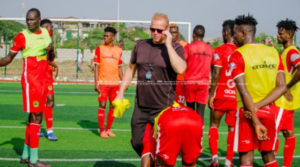 PHOTOS: Asante Kotoko step up preparations for Kano Pillars
