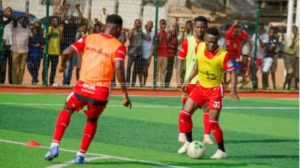 VIDEO: Kotoko train as they attempt to slay Legon Cities Football Club