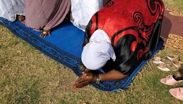 PHOTOS: Nana Oye Lithur ridiculed for fake Islamic prayers for votes stunt
