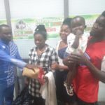 PHOTOS: 1-year-old baby whose mother dumped him in toilet gets cash donation from Ghanaians