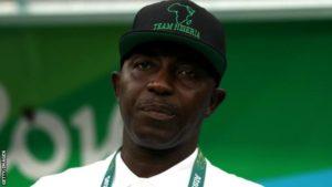 Former Nigeria coach Samson Siasia handed life ban by Fifa