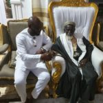 PHOTOS: GFA Presidential aspirant George Afriyie pays courtesy visit to Chief Imam
