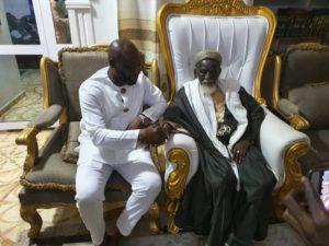 PHOTOS: GFA Presidential aspirant George Afriyie pays courtesy visit to Chief Imam