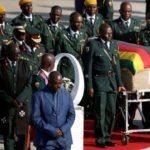 Robert Mugabe's body arrives in Zimbabwe