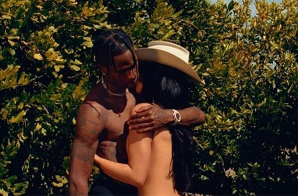 PHOTOS: Kylie Jenner bares it all as she poses with beau, Travis Scott