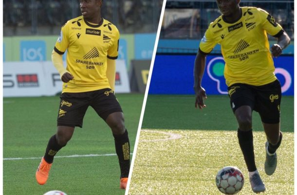 Ghana duo Isaac Twum and Aremu shine for IK Start in win over Nest-Sotra