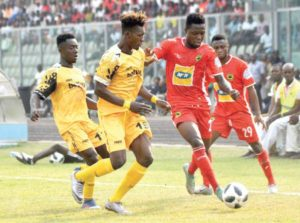 A/R Division One clubs send goodwill message to Kotoko, AshantiGold