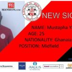 Lincoln Red Imps sign Mustapha Yahaya from Europa FC