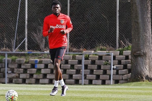 Ghana star Thomas Partey absent from Atlético Madrid training