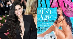 PHOTOS: Demi Moore strips off completely to promote her tell-all book