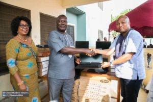 PHOTOS: MP donates 60 laptops to ICT teachers in North Tongu