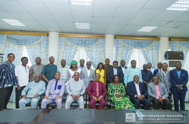 NDC meets leadership of Pentecostal & Charismatic Churches