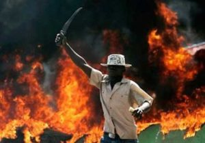VIDEOS: South Africans burn Nigerian man alive