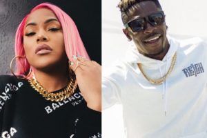 VIDEO: Shatta Wale set to release song with British rapper, Stefflon Don