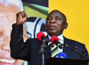VIDEO: South Africa President makes mistake on live TV while addressing Xenophobic attacks