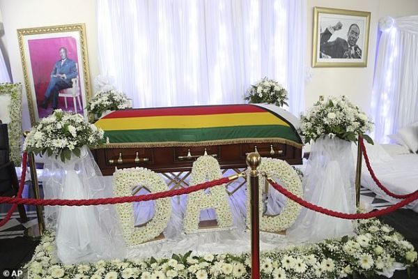 Robert Mugabe to be buried close to his mother