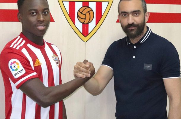 Almeria troll Man Utd after missing out on Ghanaian youngster Arvin Appiah