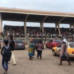 PHOTOS: Thousands of people besiege Black Star Square over SHS placements