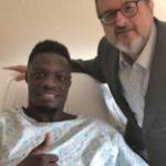 Ghana striker Caleb Ekuban successfully undergoes surgery