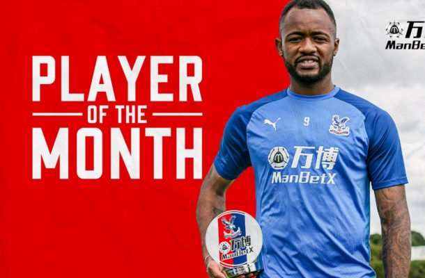 Jordan Ayew named ManBetX Player of the Month for August