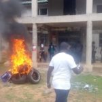 Supporters of Muntaka's 'rival' go on rampage; set fire at NDC office