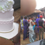 HEARTBREAKING: Bride collapses as groom's jilted ex-lover storms their wedding