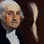 PHOTO: Real-life hair of US 1st prez, George Washington up for sale at $50k