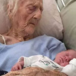INCREDIBLE: 74-year old woman delivers twin baby girls after 54-years of marriage