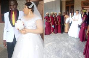 HEARTWARMING PHOTOS: Beautiful lady marries blind man