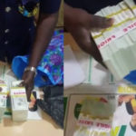 VIDEO: Ghana Police arrest Nigerian men attempting to smuggle in millions of fake dollars