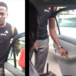 SHOCKING VIDEO: Uber Driver assaults female passenger with a whip for questioning him