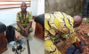 HORRIFIC: Welder kills okada rider; harvests his intestine for ritual