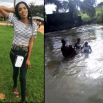 CHILLLING video captures pretty level 300 Uni student drowning