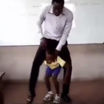 VIDEO: Ghanaian teacher's unique style of teaching proper and improper fractions receives plaudits