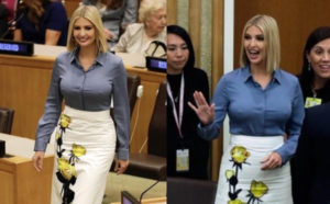 PHOTOS: Ivanka Trump flashes her nipples at UNGA, grabs world-wide attention